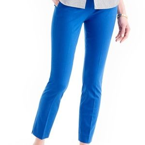 J.Crew Women's Royal Blue Martie Cropped Pant 4P